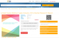 United States Medical Tapes Industry 2016