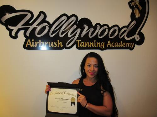 Aileena Minoshima - Certified Airbrush Tanning Technician'
