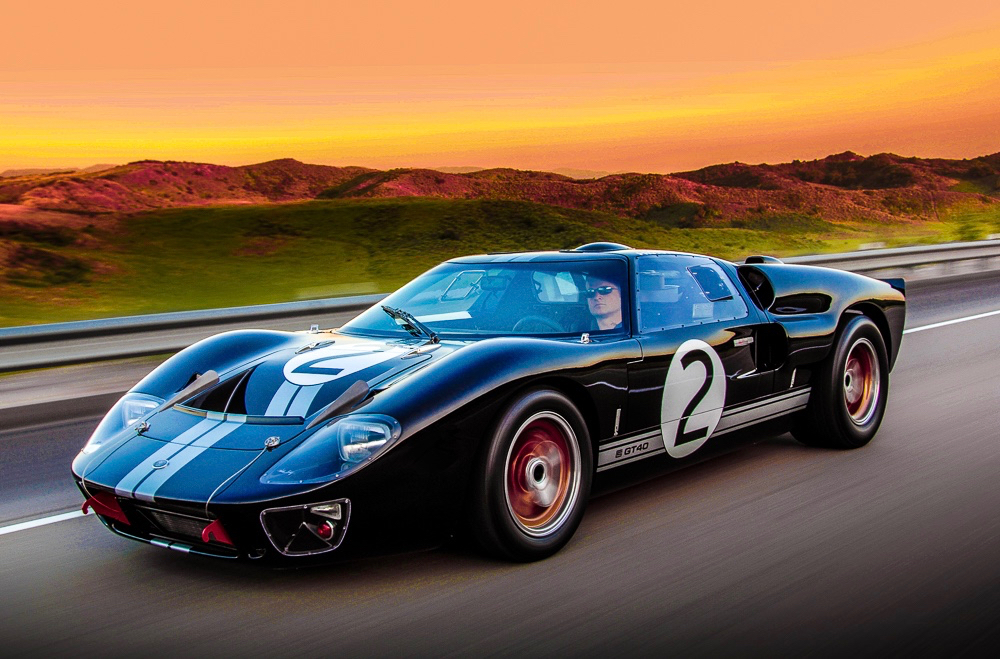 Champion Oil to Display 50th Anniversary Shelby GT40 MKII at