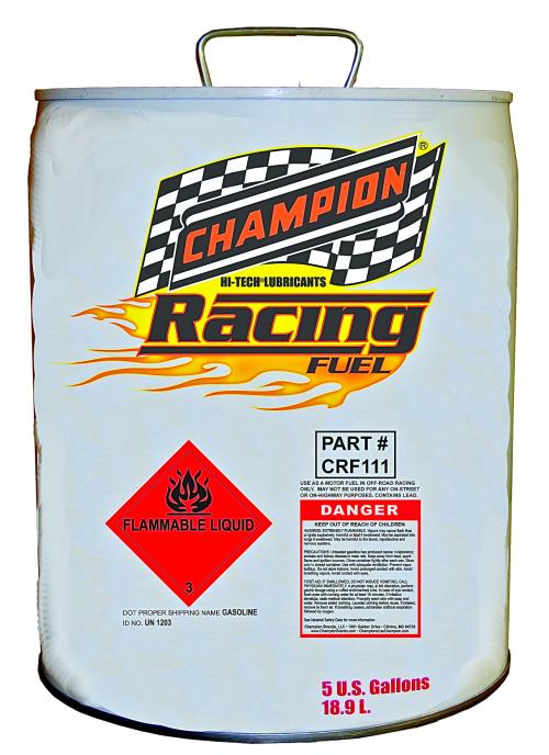 Champion Racing Fuel'