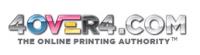 4OVER4 PRINTING Logo