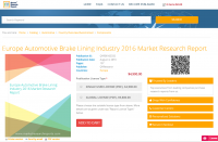 Europe Automotive Brake Lining Industry 2016