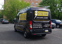 Wes Carver Electric's Brand New Ford Transit