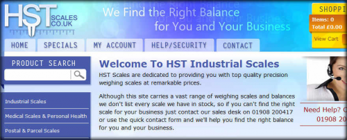 HST Scales'