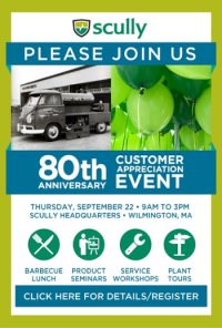 Scully Signal Company to Host 80th Anniversary Celebration