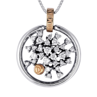 Damiani Diamond Pendant Necklace