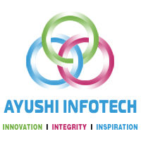 Logo for ayushiinfotech'