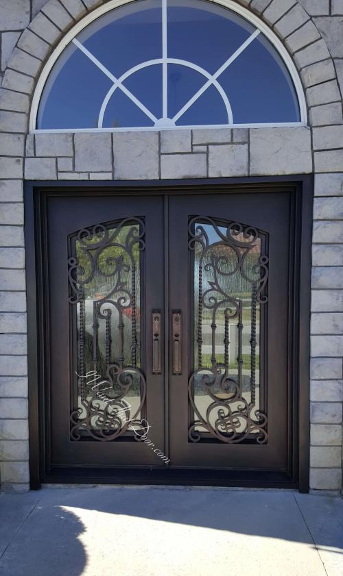 iron door'
