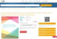 Global Spectacle Mounting and Frame Market to 2020