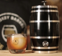 Whiskey Barrel Ice Baller