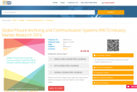 Global Picture Archiving and Communication Systems 2016