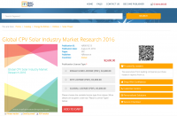 Global CPV Solar Industry Market Research 2016