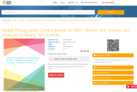 Global Photographic Camera Market to 2020