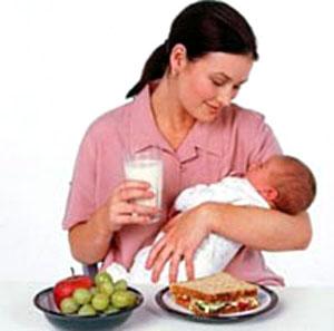 Losing weight from breastfeeding'