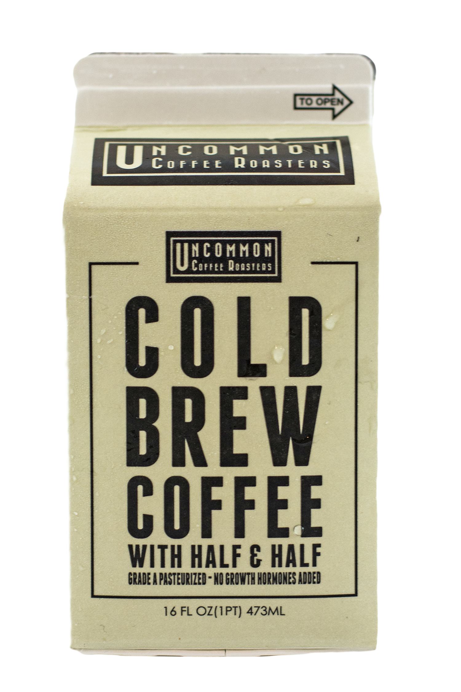 Uncommon Coffee Roasters Cold Brew Coffee with Half and Half