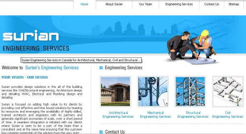 Logo for Engineering Canada: Mechanical, Architectural, Civi'