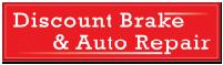 Logo for Discount Brake and Auto Repair'
