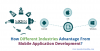 How Different Industries Advantage From Mobile Application D'