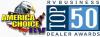 America Choice RV 2016 RVBusiness Top 50 Dealer'