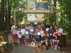 Retreat #100 - Family Triathlon Finish Line'