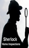 Logo for Sherlock Home Inspections'