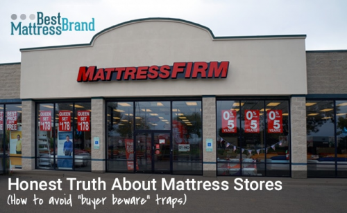 Best Mattress Brand Uncovers Truth About Mattress Stores in'