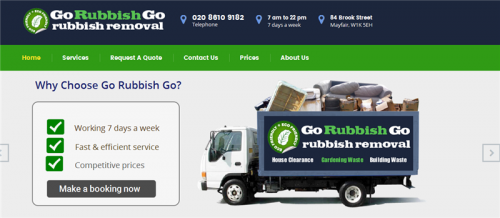 Company Logo For Go Rubbish Go'