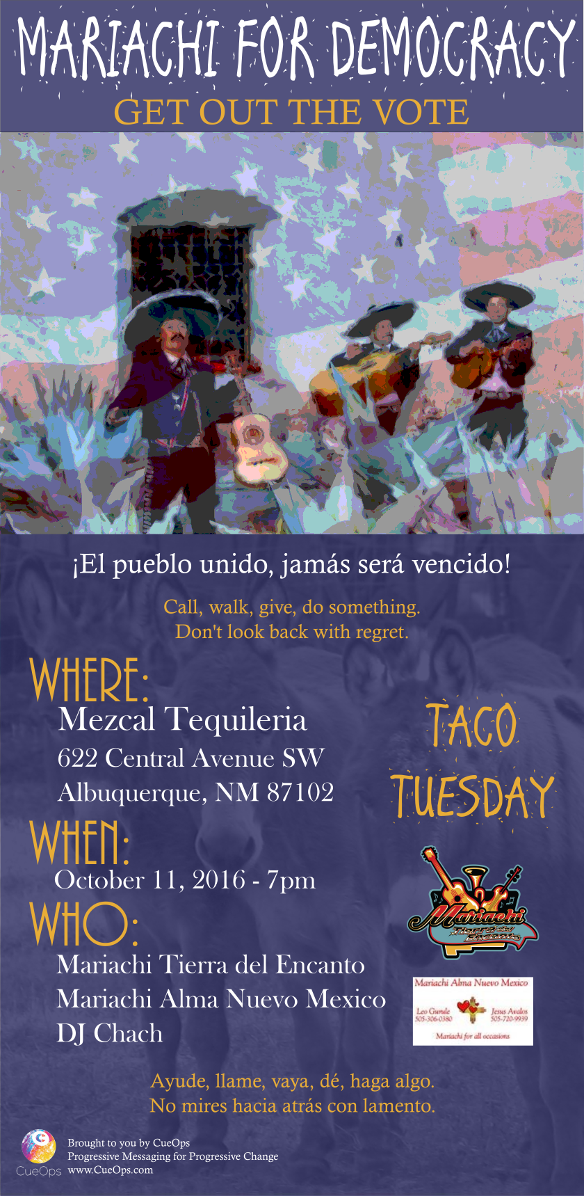 Mariachi for Democracy Event