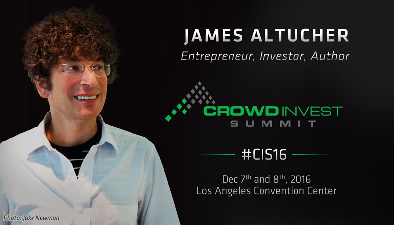 James Altucher @ Crowd Invest Summit