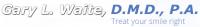 Gary L. Waite, D.M.D, P.A Logo