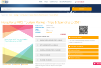 Hong Kong MICE Tourism Market - Trips & Spending to