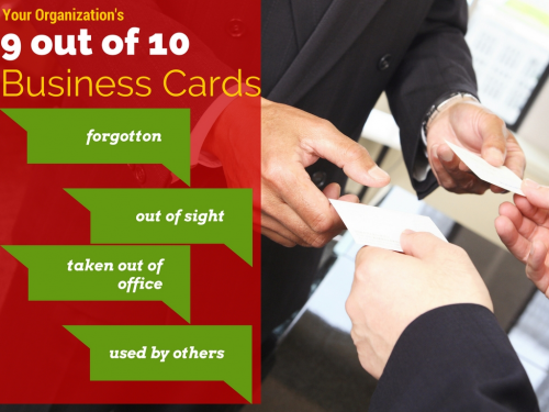 Lost Business Cards'