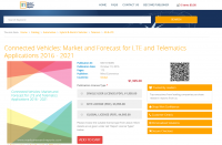 Connected Vehicles: Market and Forecast for LTE