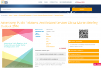 Advertising, Public Relations, And Related Services