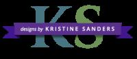 DesignsByKristineSanders.com Logo
