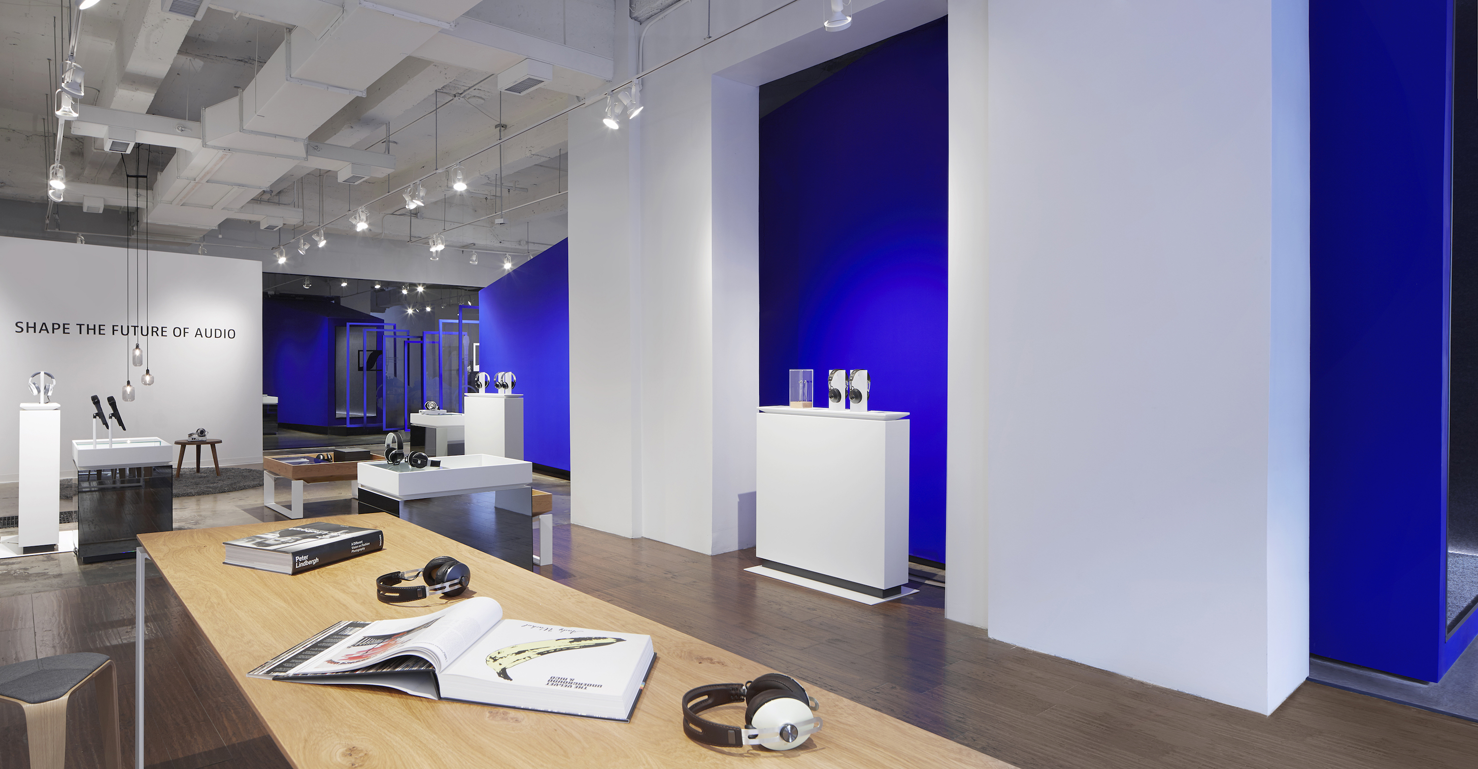 The Sennheiser pop-up store in SoHo invites New Yorkers to e