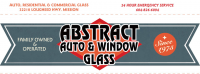 Abstract Auto & Window Glass Logo