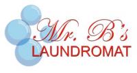 Mr. B's Laundromat Logo