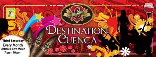 Destination Cuenca Every Month!'