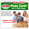 Pizza Giveaway'
