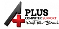 A Plus Computer Support Logo