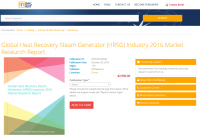 Global Heat Recovery Steam Generator (HRSG) Industry 2016
