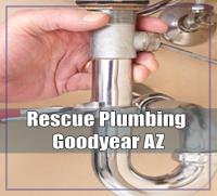 Rescue Plumbing Goodyear AZ Logo
