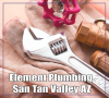 Company Logo For Element Plumbing San Tan Valley'