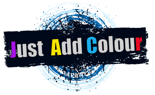 Company Logo For JUST ADD COLOUR'