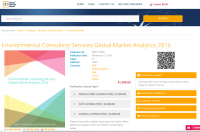 Environmental Consulting Services Global Market Analytics