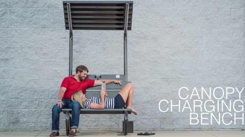 Charging bench'