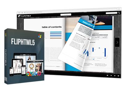 FlipHTML5 Converts PDF to Flipbook'