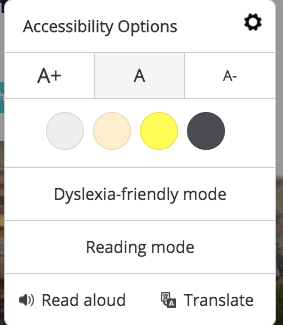 Accessibility Setting'