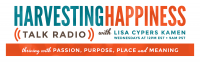 Harvesting Happiness Talk Radio Logo